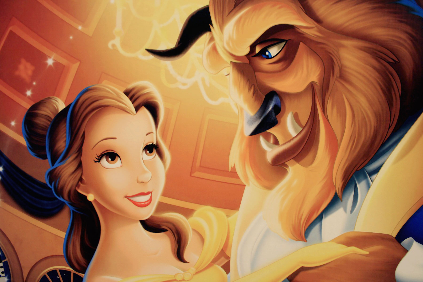 Beauty and the beast vs la belle et la b te disneyfied for Belle image hd