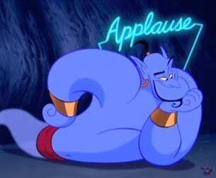 Image result for aladdin genie