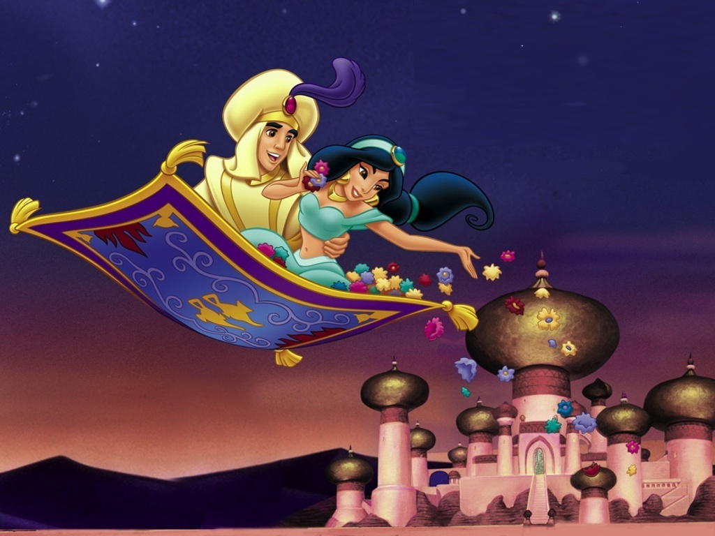 Disney Movies 2 Aladdin And Jasmin