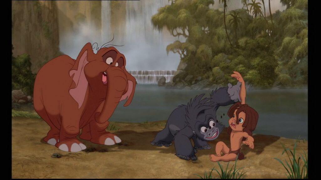 Tarzan Vs Tarzan Of The Apes  Disneyfied, Or Disney Tried-8283