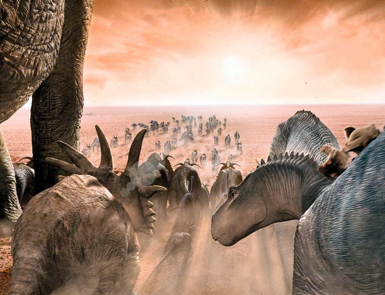 Long ago, on an untouched Earth, giant lizard-like animals walked ... | 1280 x 981 jpeg 218kB