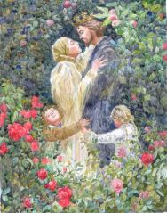 http://commons.wikimedia.org/wiki/File:Illustration_for_the_Brothers_Grimm_fairy_tale_Rapunzel..jpg