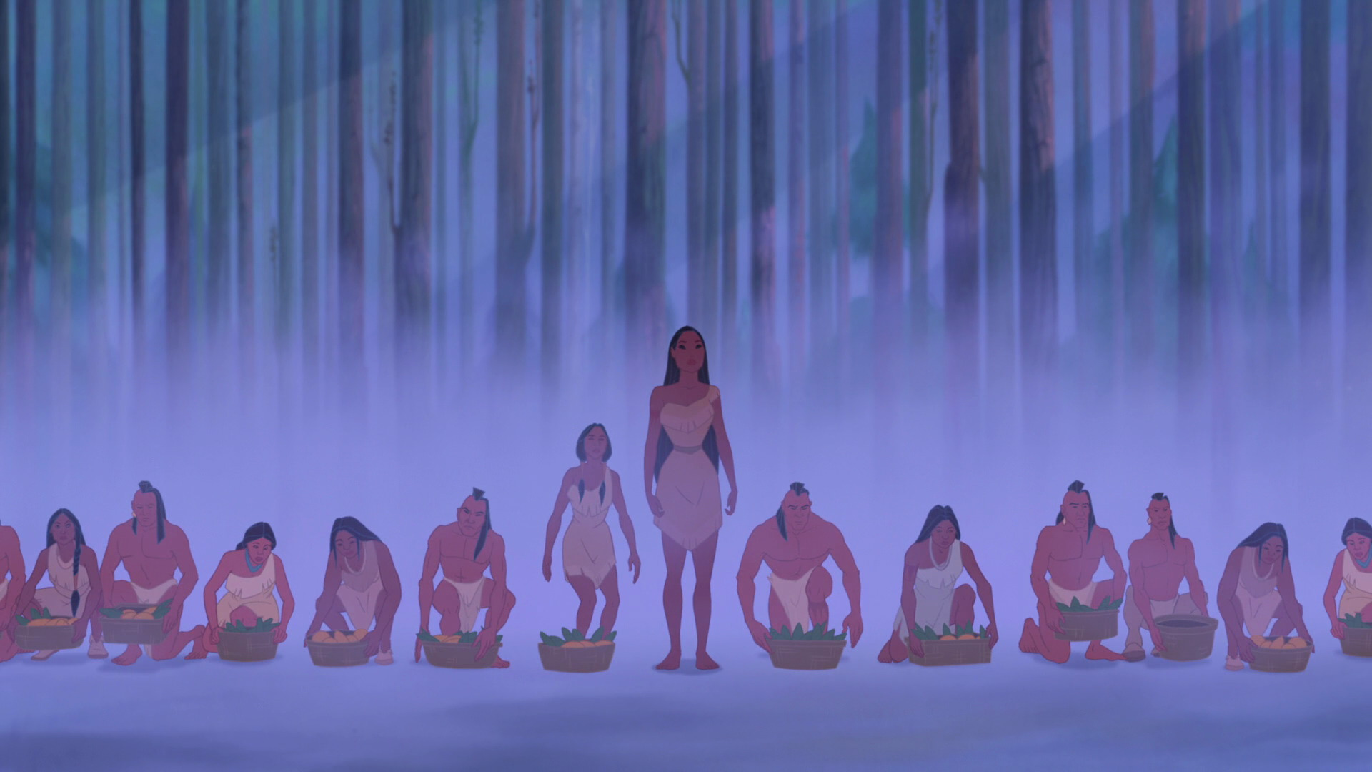 a comparison between disney movie pocahontas Learn about the historic powhatan indian princess pocahontas what did captain  john smith write originally how does the disney movie compare.
