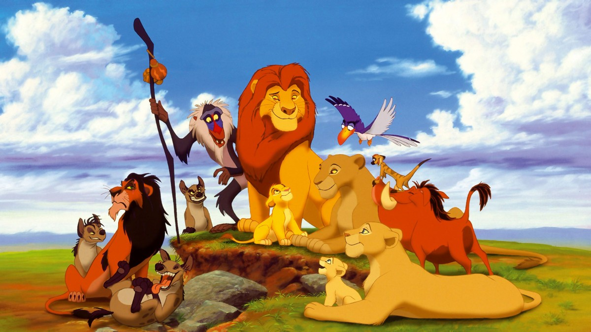 Disney vs. Nature #3: The Lion King