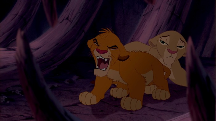 Nala finds yet another reason for a lioness to be depressed.