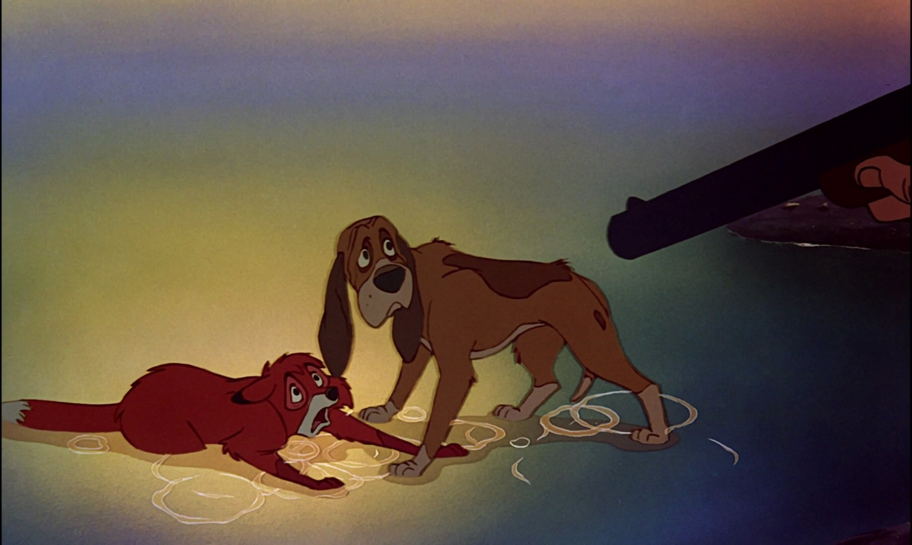 Fox And The Hound Coloring Pages Copper