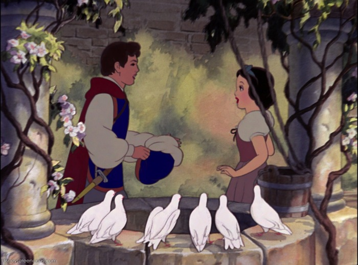 snow white meets the prince