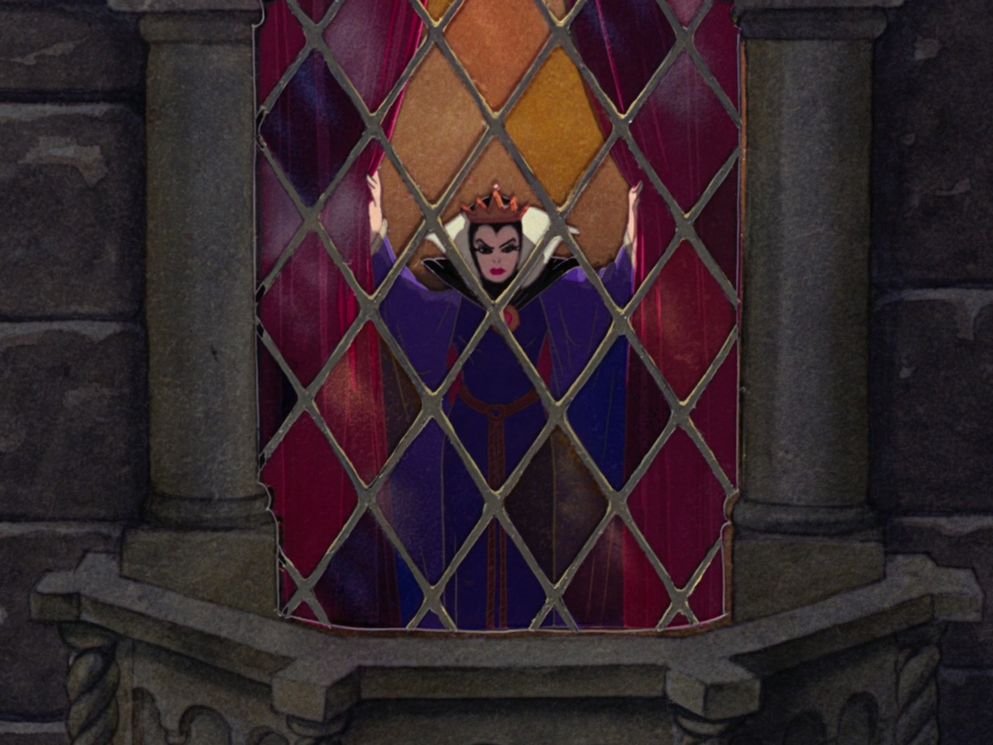 Snow White and the Seven Dwarfs vs. Sneewittchen ...Disney Evil Queen Song