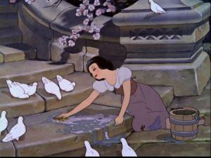 snow white washing steps