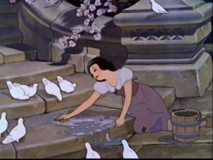 snow white washing steps