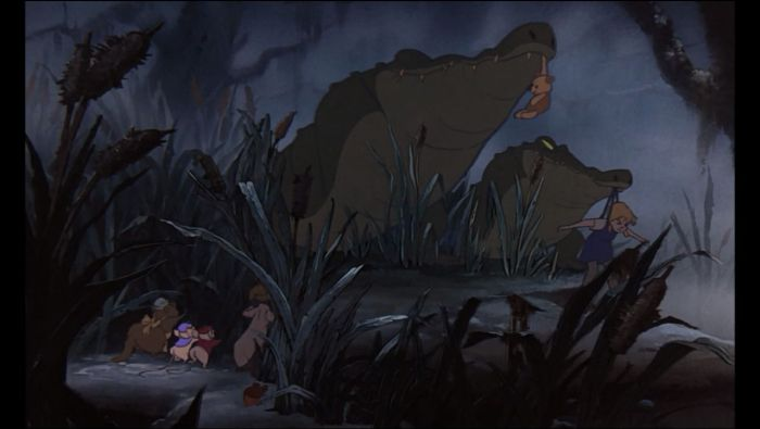 Penny, Nero and Brutus in the swamp