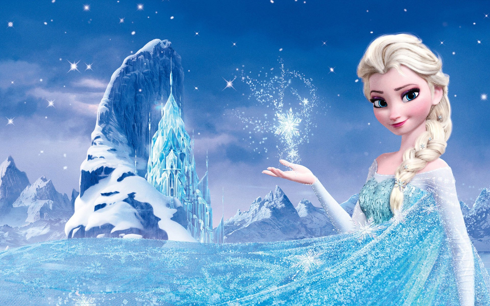 I made an icon-friendly wallpaper for Queen Elsa, from Disney'-s ...